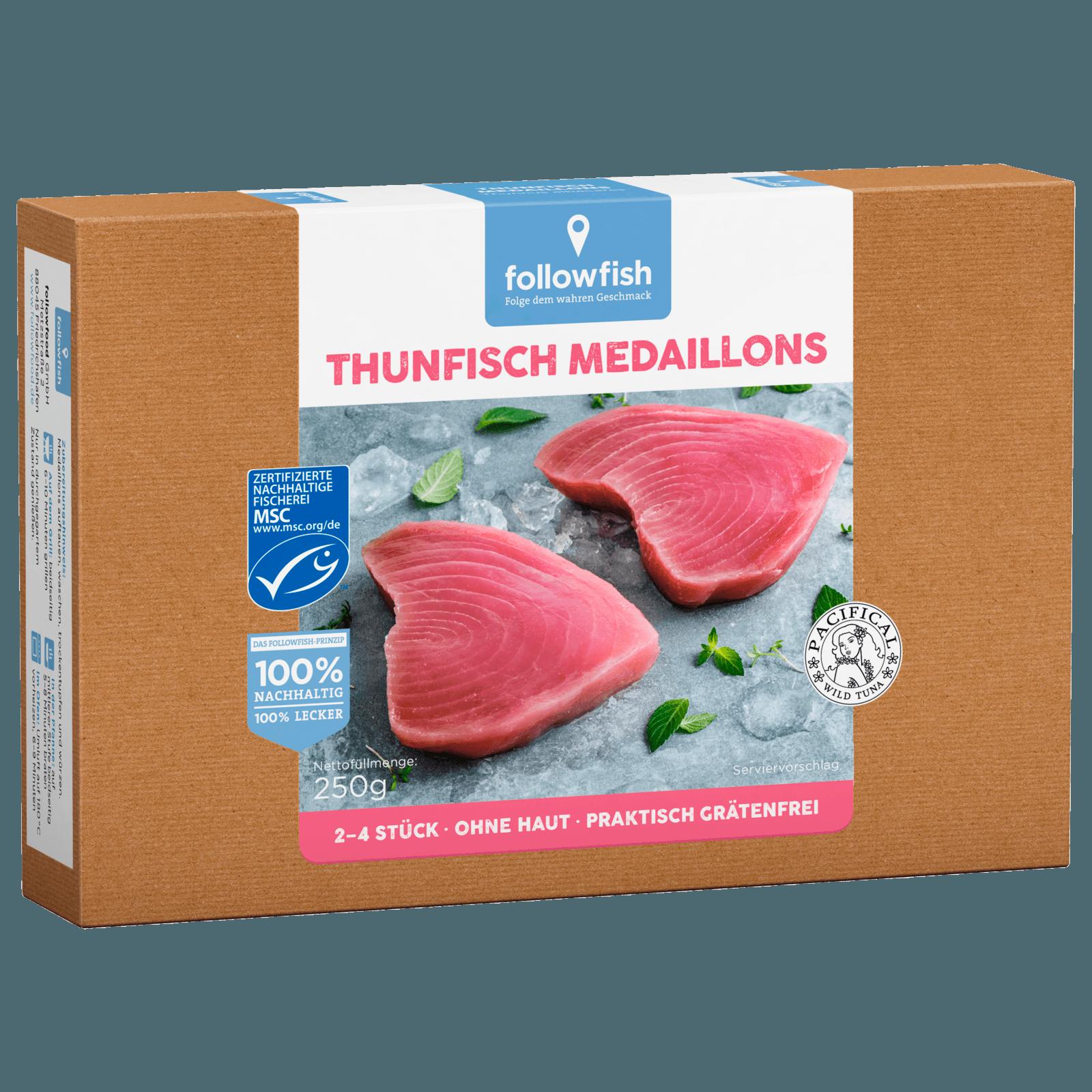 Followfish Thunfisch Medaillons MSC 250g