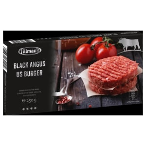 Tillman's Black Angus US Burger 250g