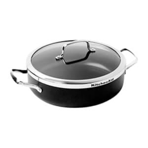 KitchenAid Servier- und Schmorpfanne mit Deckel ø 28cm +30 Treuepunkte