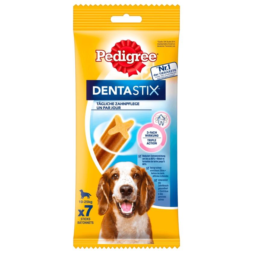 Pedigree Hundesnack Dentastix tägliche Zahnpflege für mittlere Hunde 7 Stück