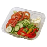 Salat mit Salzlakenkäse 100g