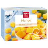 Mango gewürfelt, tiefgefroren.