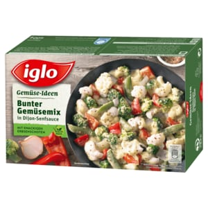 Iglo Gemüse Ideen Bunter Gemüse Mix In Dijon Senfsauce 400g Bei Rewe