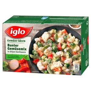Iglo Gemüse Ideen Bunter Gemüsemix mit Dijon-Senfsauce 400g