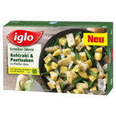 Iglo Gemüse Ideen Kohlrabi & Pastinaken 400g