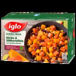 iglo Gemüse Ideen Kürbis & Süßkartoffeln in Limetten-Butter 400g