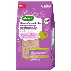 Alnavit BeerenSchmeichler Bio Super Porridge Aronia-Pflaume-Hanf 300g