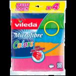 Vileda Microfibre Colors 4 Stück
