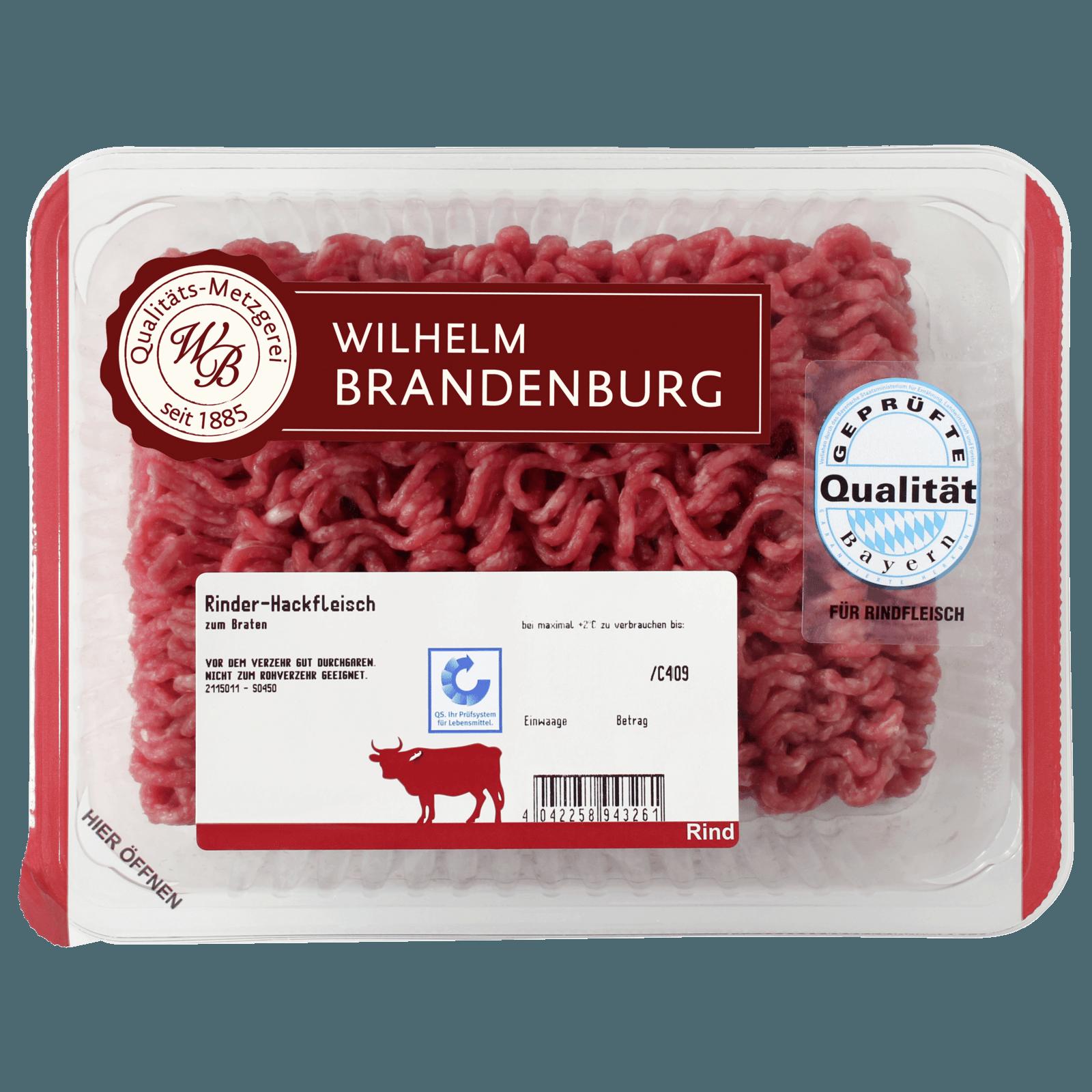 Wilhelm Brandenburg Rinderhackfleisch 250g Bei Rewe Online Bestellen