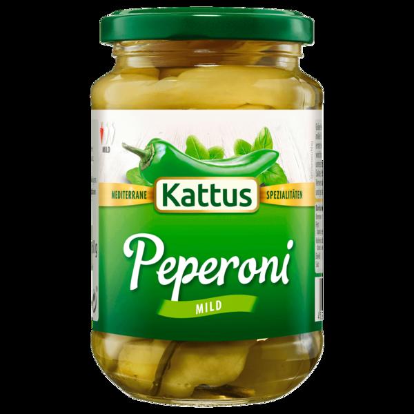 Kattus Peperoni grün mild 160g