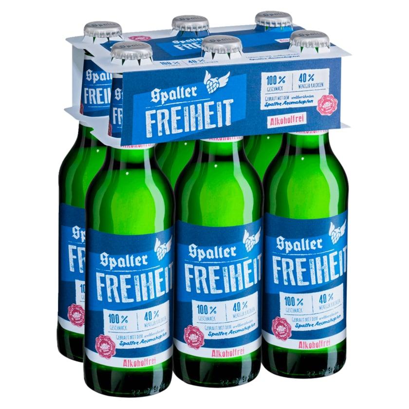 Spalter Freiheit alkoholfrei 6x0,33l