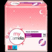 Camelia Maxi Binden Nacht 16 Stück