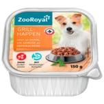 ZooRoyal Grillhappen mit Huhn und Gemüse an Paprikacreme 150g