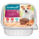 ZooRoyal Pastete mit Kalb, Kartoffeln und Karotten 150g