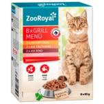 ZooRoyal Multipack Grill-Menü 8x85g