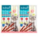 ZooRoyal Katzen-Grillies mit Lachs 8x5g