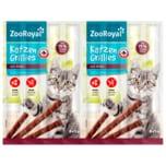 ZooRoyal Katzen-Grillies mit Rind 8x5g