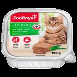 ZooRoyal Cocktail aus Rind, Huhn und Aloe Vera 100g