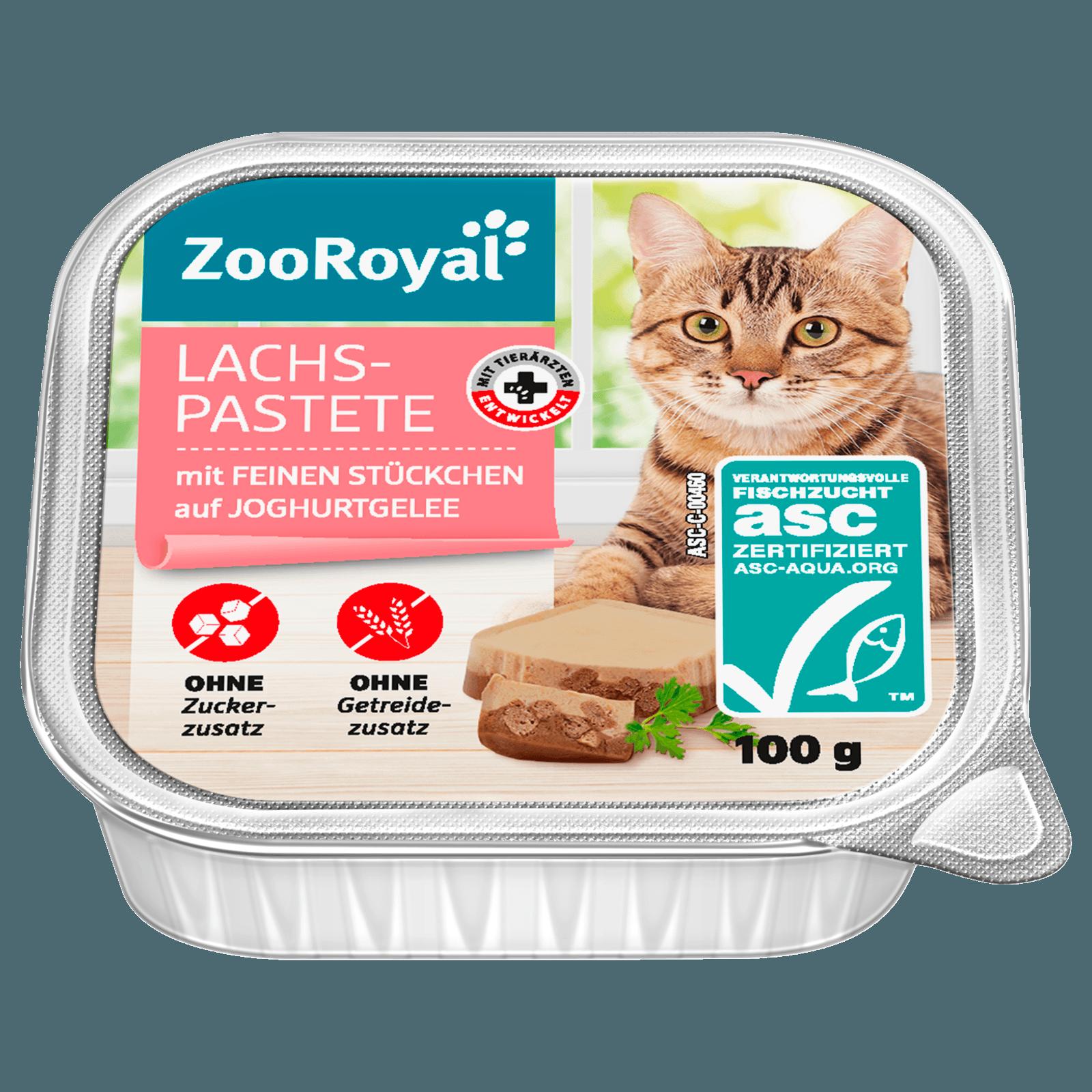 ZooRoyal Lachspastete mit Forelle 100g