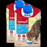 ZooRoyal Katzenmilch 2x200ml