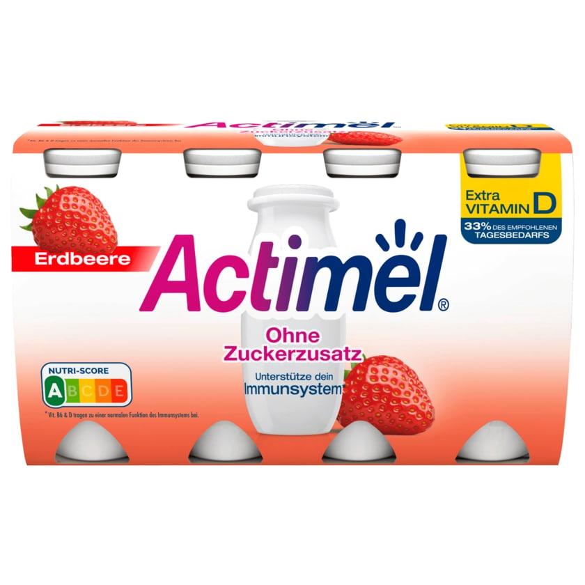 Danone Actimel Erdbeer Ohne Zuckerzusatz 800g