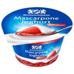 Weihenstephan Mascarpone Joghurt Erdbeere 150g