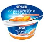 Weihenstephan Mascarpone Joghurt Pfirisch Aprikose 150g
