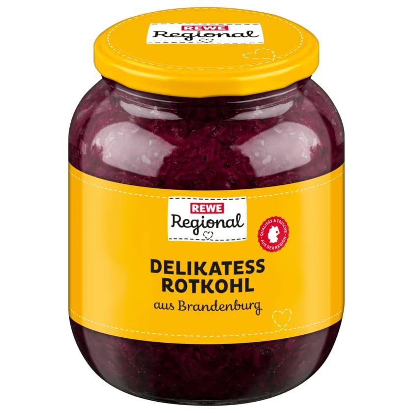 REWE Regional Delikatess Rotkohl 520ml