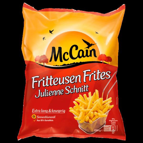 McCain Fritteusen Frites Julienne Schnitt 2,5kg