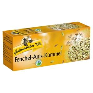 Goldmännchen-Tee Fenchel-Anis-Kümmel 25 Beutel