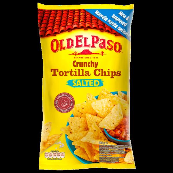 Old El Paso Tortilla Chips Salted 185g