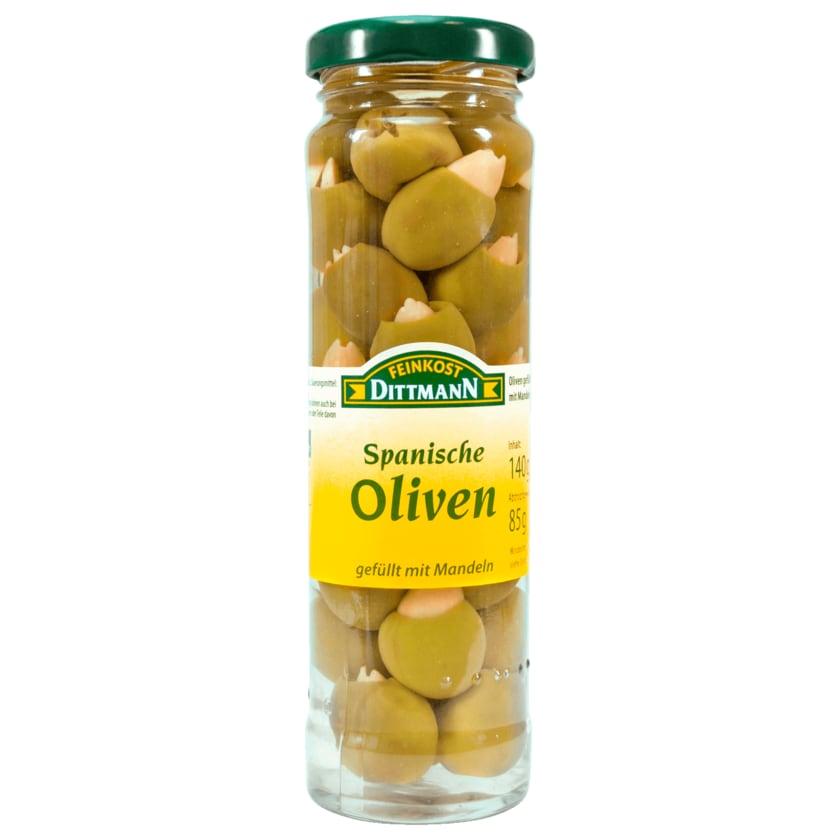 Feinkost Dittmann Spanische Oliven mit Mandeln 85g