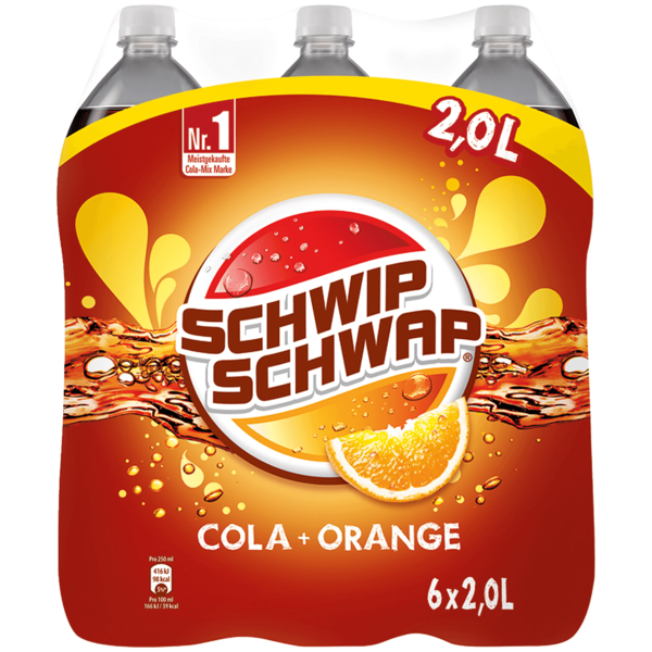 Schwip Schwap Colamix 6x2l