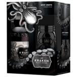 The Kraken Black Spiced Rum 40% 0,7l + Glas