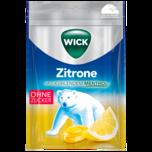 Wick Zitrone & Menthol ohne Zucker 72g
