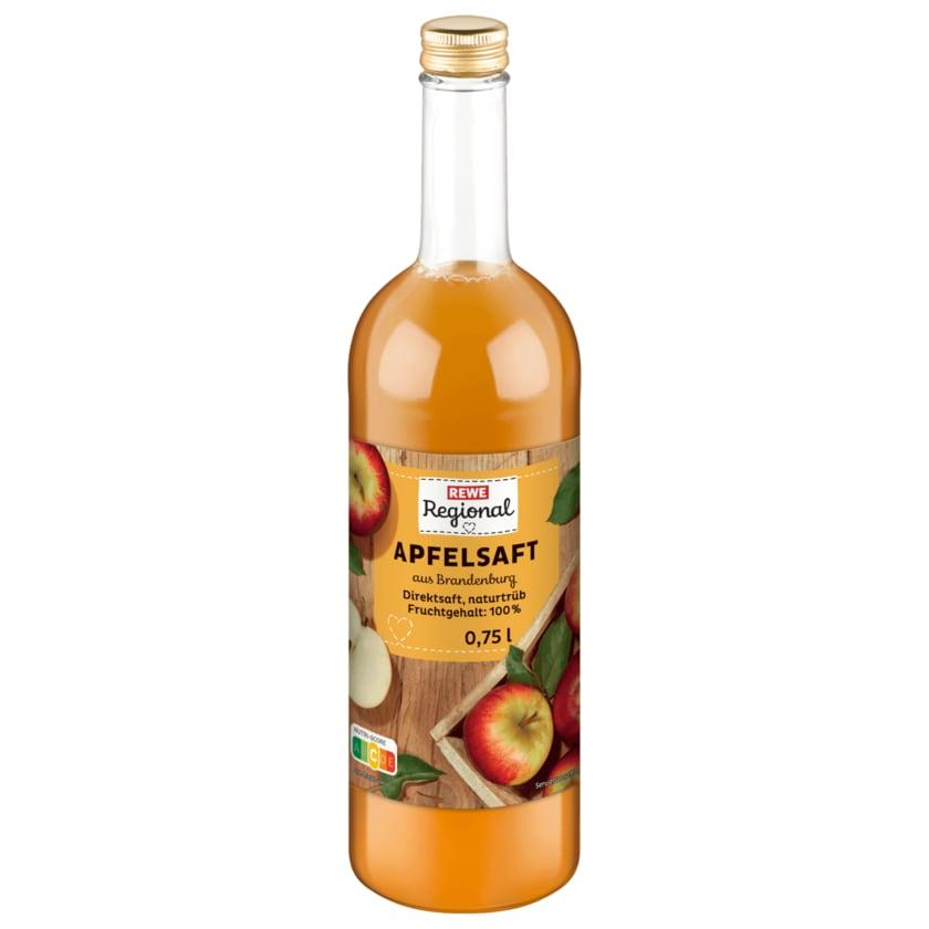 REWE Regional Apfelsaft mild 0,75l