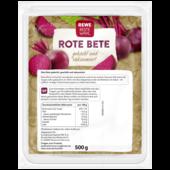 REWE Beste Wahl Rote Bete gekocht 500g