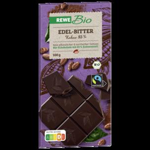 REWE Bio Edel-Bitter-Schokolade 85% 100g