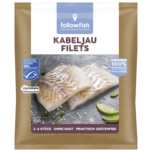 Followfish Kabeljau Filets MSC 400g