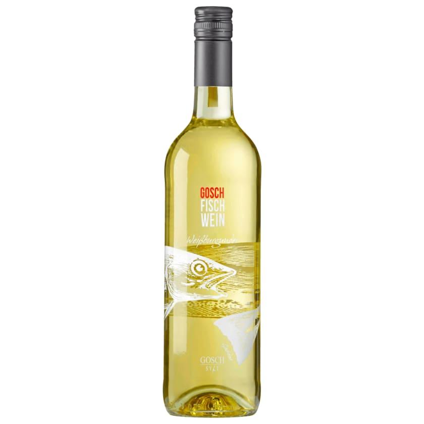 Gosch Weißwein Weißburgunder QbA trocken 0,75l