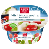 REWE Beste Wahl Mini Mozzarella 255g