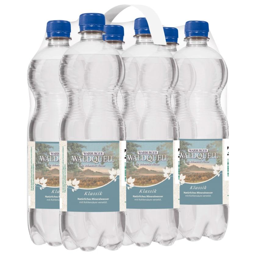 Warburger Mineralwasser Classic 6x0,75l