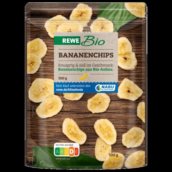 REWE Bio Bananenchips gesüßt 300g