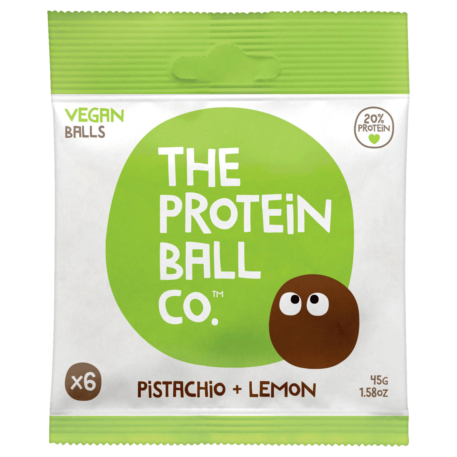 The Protein Ball Lemon & Pistacio 45g