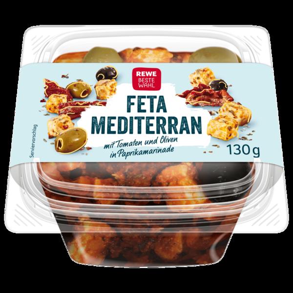 REWE Beste Wahl Feta Mediterran 130g