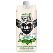 Rebel Kitchen Bio Coconut Milk Drink Mylk Matcha Green Tea 330ml