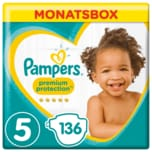 Pampers Premium Protection Gr. 5 Junior 11-23kg Monatsbox 136 Stück