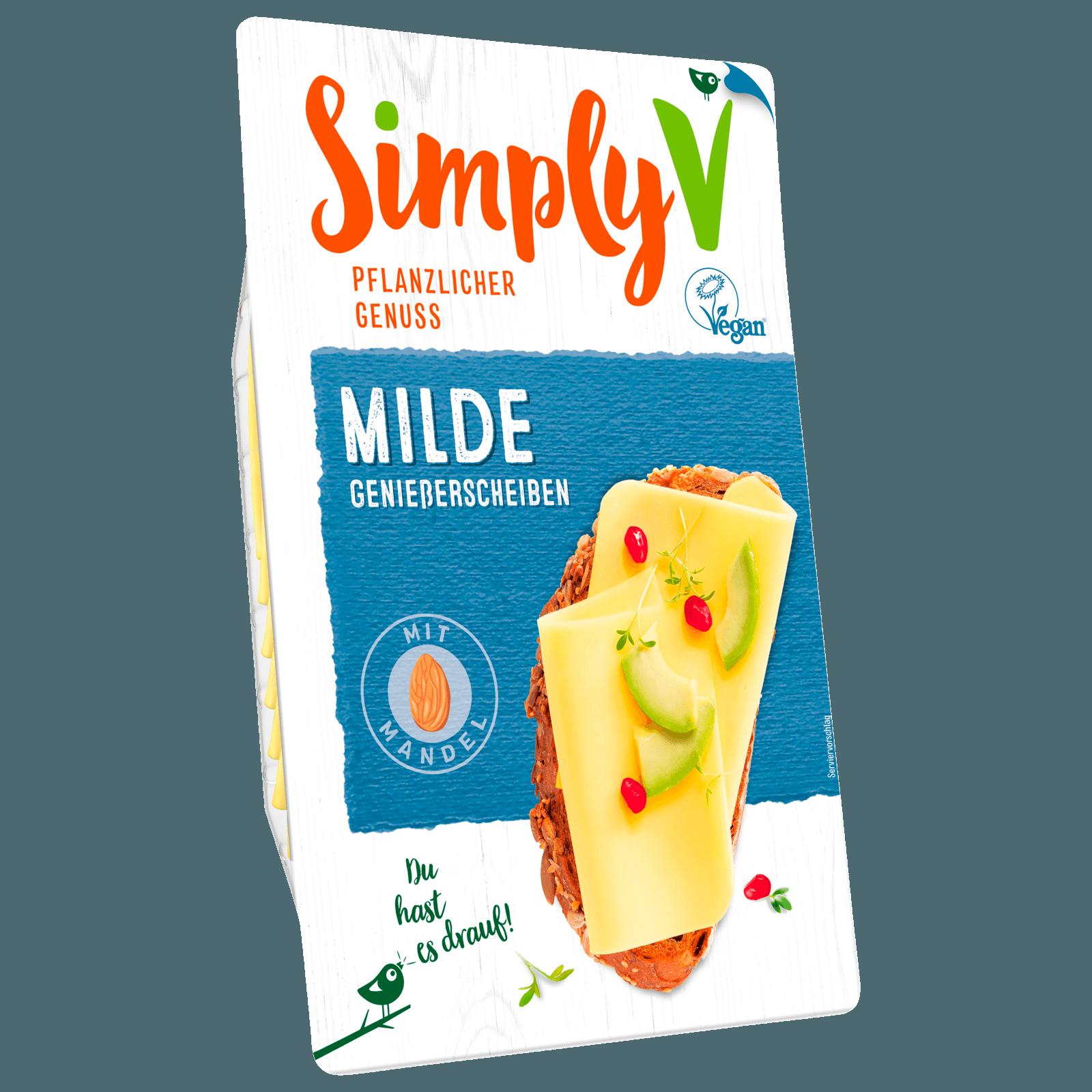 Simply V Vegane Geniesserscheiben 150g Bei Rewe Online Bestellen