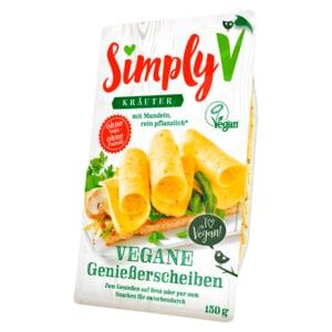 Simply V Vegane Genießerscheiben Kräuter 150g