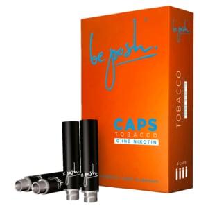 Be Posh Caps Tobacco Zero ohne Nikotin 4 Stück